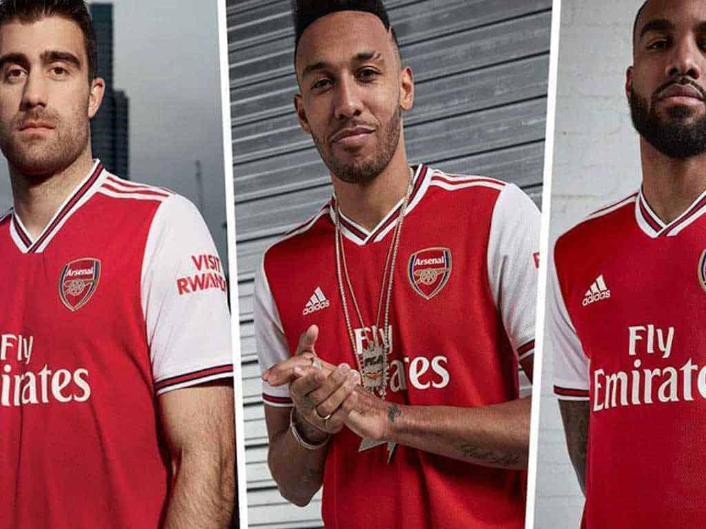 Adidas Gioi Thieu Bo Do Bong Da Arsenal San Nha Moi Mua Giai 19 20 | Áo Bóng Đá Sum Store