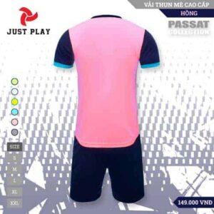 JUST PLAY – Áo Đá Banh Không Logo Passat Hồng