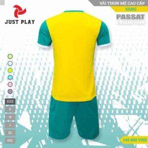 JUST PLAY – Áo Đá Banh Không Logo Passat Vàng