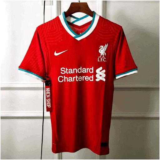 Mẫu Áo Đấu Clb Liverpool